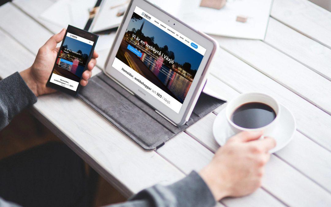 Därför behöver din hemsida vara responsiv / mobilanpassad 2019
