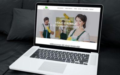 Ny hemsida lanserad för Växjö Städmiljö